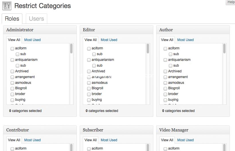 restrict-categories