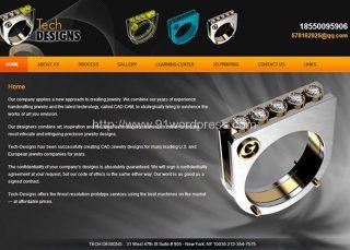 greek21 珠宝 首饰 服装 奢侈品 黑色大气 外贸网站 WordPress中英文模板主题